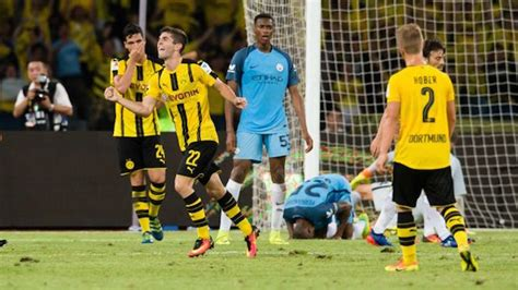 christian pulisic youth video christian pulisic scored on pep guardiola and also man