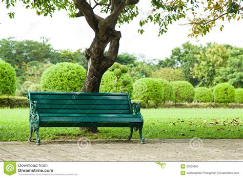 bench under tree bench under a tree stock photo image 27605660