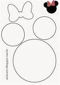 mickey mouse shape template 25 melhores ideias sobre minnie rosa no festa