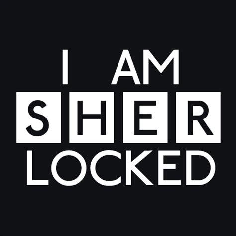 Kaos I Am Sher Locked i am sherlocked t shirt tv related textual tees