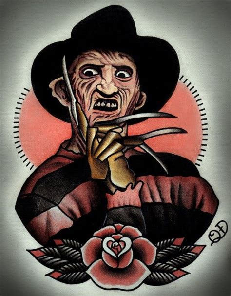 horror movie tattoo designs kick ideas horror designs by