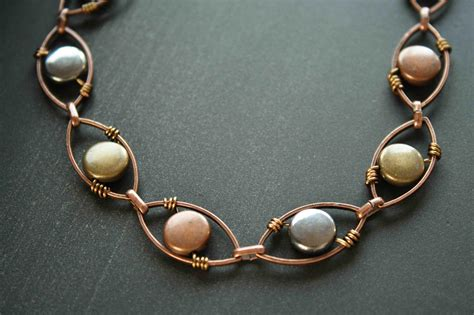 wire wrapped copper bracelet on luulla