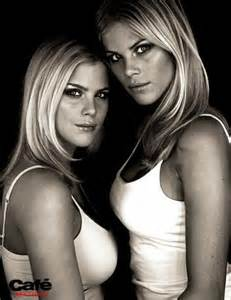 elin nordegren and twin sister josefin simply beautiful