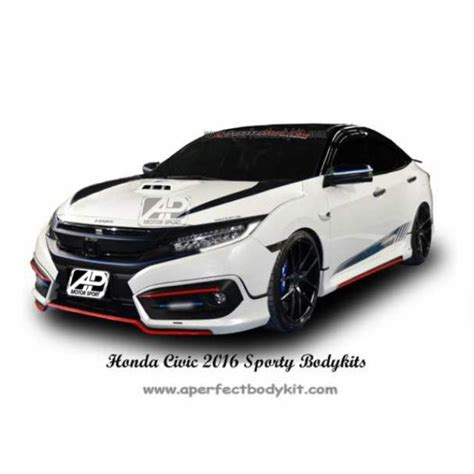 2016 Honda Civic Kit by Honda Civic X 2016 Bodykit Car Accessories On Carousell