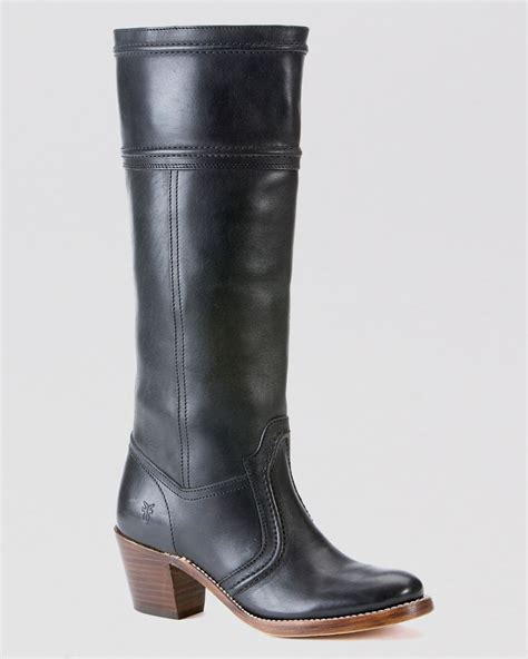 frye boots 14l in black lyst