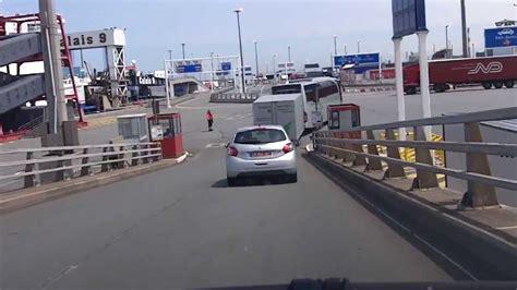 calais ferry port calais ferry port from ferry to motorway