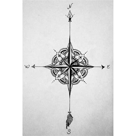 tattoo compass mandala mandala compass google search pinteres