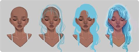 sketchbook how to colors how to draw hair step by step with downloadable pdf