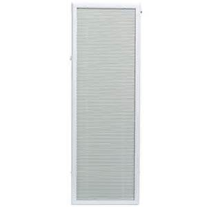 add on blinds for doors odl 20 inch x 64 inch white aluminum add on blind for