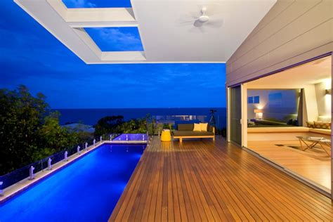 home lighting design brisbane coolum bays beach house in queensland australia