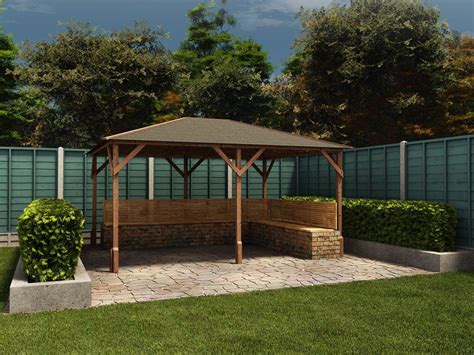 bamboo gazebo kit bamboo gazebo kits for wedding inkandcoda home