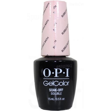 Opi Gelcolour Bath opi gel color bath by opi gel color gcs86 sparkle canada one nail place