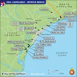 golf courses in map golf map carolinas myrtle top 100 golf courses