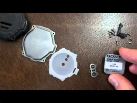 casio protrek prg 40 battery change 1/2 youtube