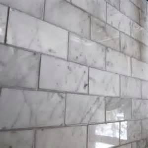 What Size Subway Tile For Kitchen Backsplash ziarat carerra white marble mosaic tile bathroom ideas