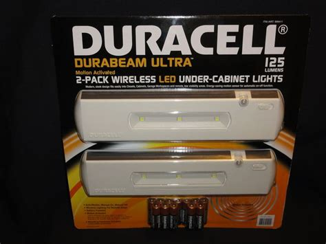 duracell led under cabinet light duracell durabeam ultra 2 pack wireless led under