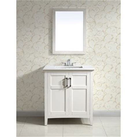 White Vanity With White Top Salem White 30 Inch Two Door White Marble Top Bathroom