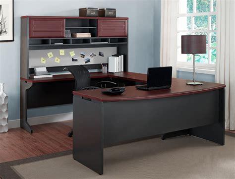 office furniture executive  desk set large wood computer modern home business ebay