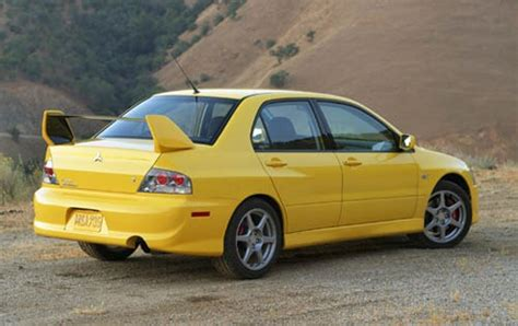 mitsubishi evolution 2005 2005 mitsubishi lancer evolution information and photos