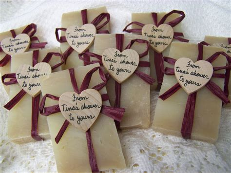 Handmade Soap Favors - rustic wedding favors mini soaps organic handmade soap