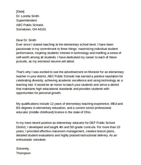 counselor cover letter sle school cover letter 37 images school counselor cover