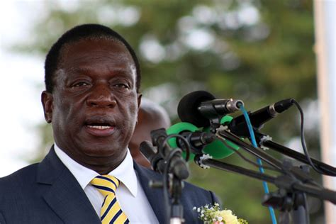 Small Entertainment Cabinet Vp Mnangagwa Headlines Midlands Business Conference The