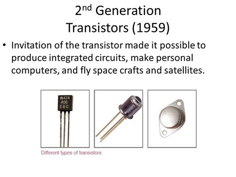 which generation of computer made use of integrated circuit history of computers ppt