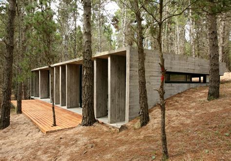 rustic architecture house plans amazing concrete house plan for a rustic forest home in argentina