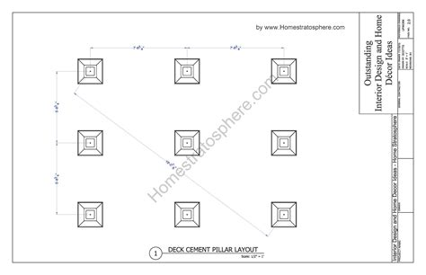 blueprint drawing free free 12 x 16 deck plan blueprint with pdf document