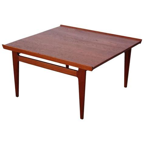 Finn Coffee Table Early Finn Juhl For And Daverkosen Teak Coffee Table For Sale At 1stdibs