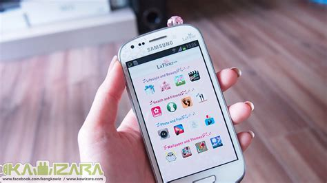 Hp Samsung S3 Mini Lafleur galaxy s3 mini la fleur edition สวย หวาน droidsans