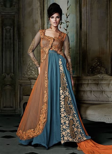dress design new style 2016 maxi style anarkali dresses collection frock designs 2017 2018