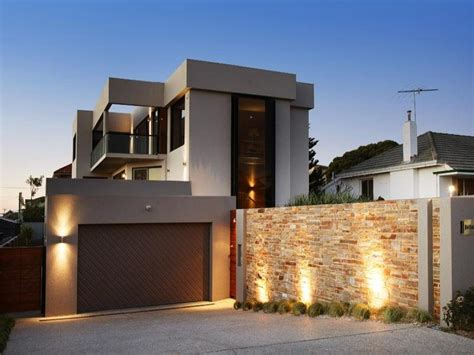 house facades photo of a concrete house exterior from real australian