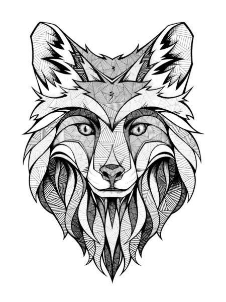 fox head tattoo fox tattoos and