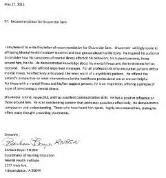 Reference Letter For Nursing Student From Employer Nursing School Reference Letter Sle Sle Business Letter