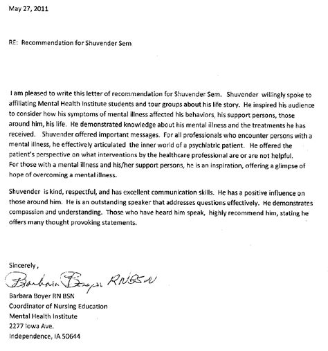 Reference Letter Template Nursing Student nursing school reference letter sle sle business