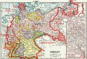 Germany Map 1914 by Germany