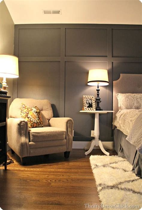 gray bedroom walls gray accent walls accent walls and board and batten on