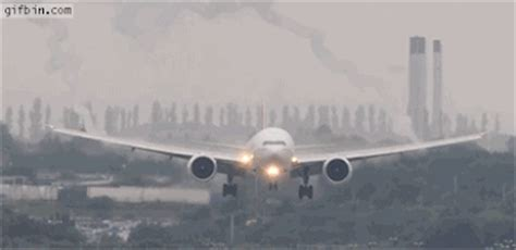 airplane landing gif find & share on giphy