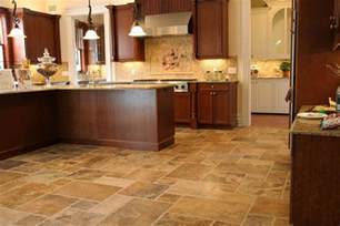 Kitchen Tiles Flooring Scabos Pattern Travertine Fuda Tile