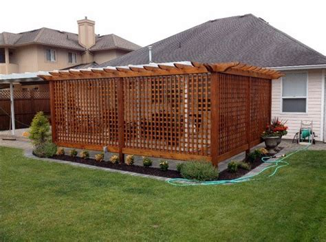 Privacy Fencing Ideas For Backyards Patio Privacy Screens Privacy Fence Ideas Backyard Design Ideas Backyard Design