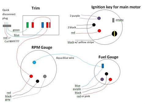 how do boat trim gauges work wiring electrical questions for trim other gauges and