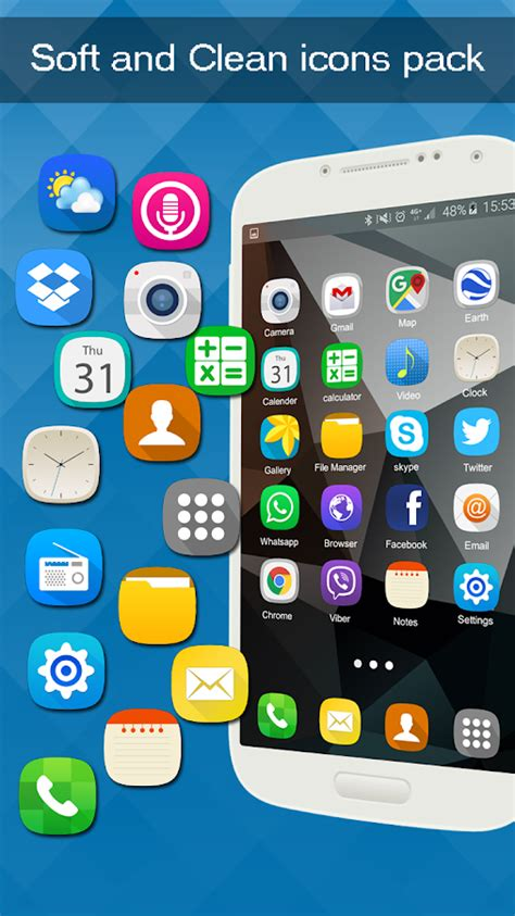 easy download themes for android simple launcher and theme android apps on google play