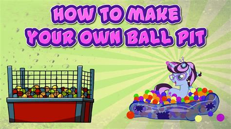 how to make your own ball pit cheap youtube