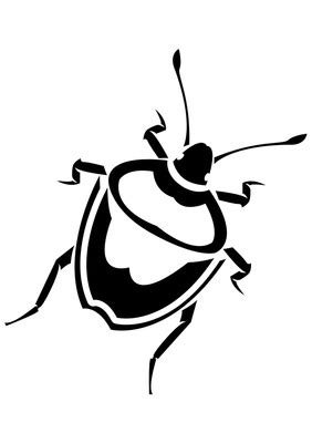 Ie8 Outline Bug by Bugs Black And White Clipart Clipart Best