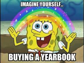 Spongebob Magic Meme - spongebob yearbook
