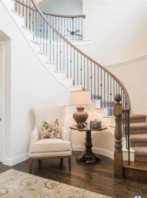 ideas  decorate  curved stairs terravista
