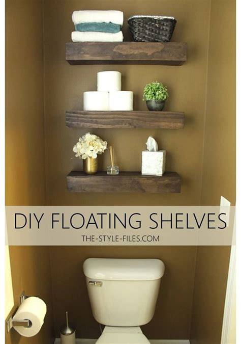 Floating Shelves In Bathroom Best 20 Floating Shelves Bathroom Ideas On Pinterest Bathroom Shelf Decor Modern Small