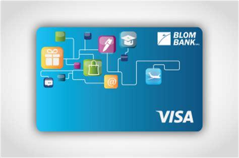 Visa Rechargeable Gift Card - blom visa mini card blom bank retail