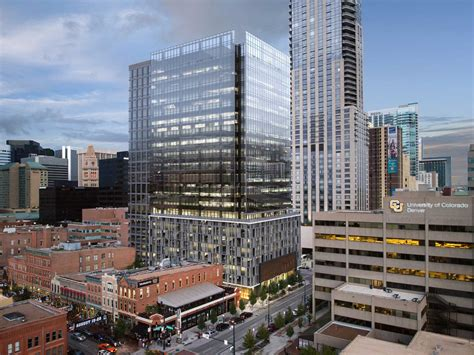 Top Mba College In Denver by Downtown Denver Office Tower Begins Vertical Ascent